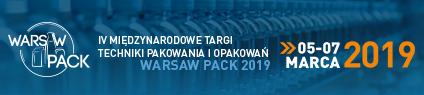 ZAPROSZENIE NA TARGI WARSAW PACK
