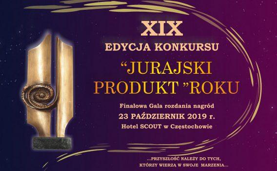 """XIX EDYCJA KONKURSU """"JURAJSKI PRODUKT ROKU 2019"""" – CZEKAMY NA TWOJĄ FIRMĘ"""